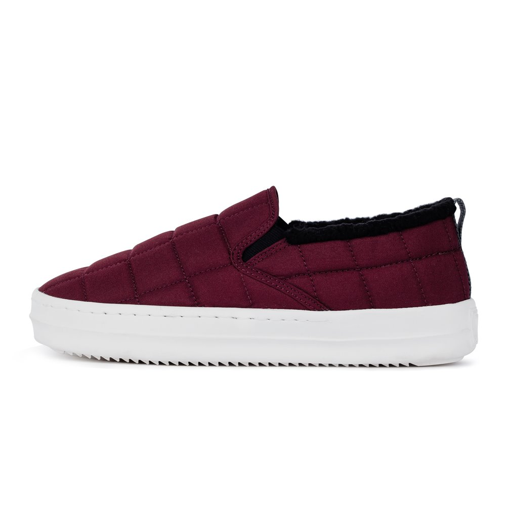 [REFURB]아샤 패딩슬립온 버건디ASHA PADDING SLIP-ON BURGUNDY